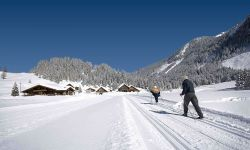 Cross country skiing in Obertauern